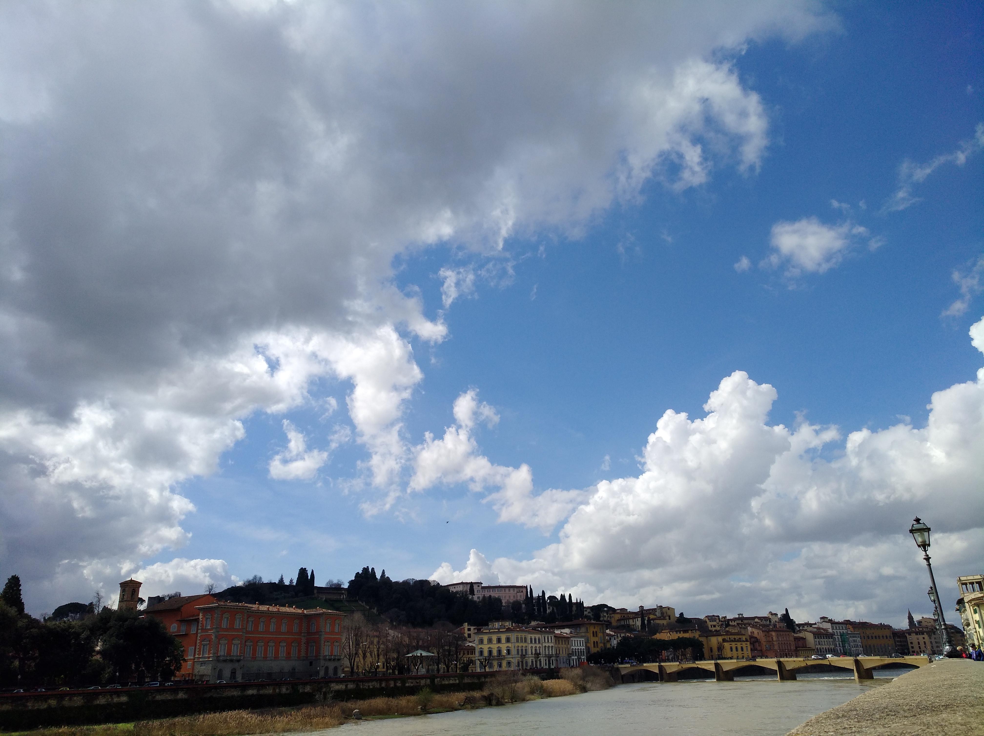 フィレンツェもそろそろ春だろうか
