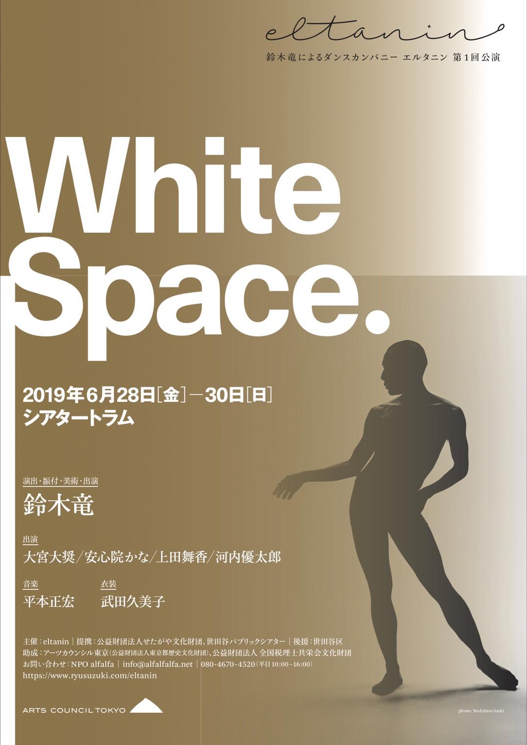 eltanin White Space. チラシ表