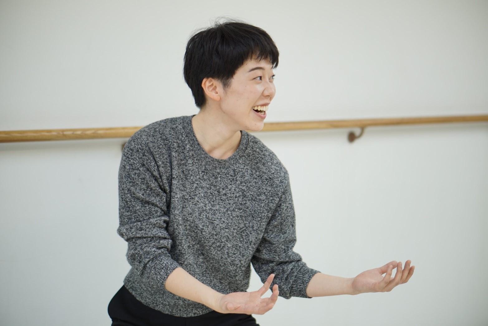 ダンス講師 上田舞香 photo by Yutaka Okawaki