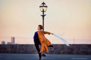 「風を切る」ダンサー 上田舞香 copyright Natsko Goto/Minato City Ballet Company