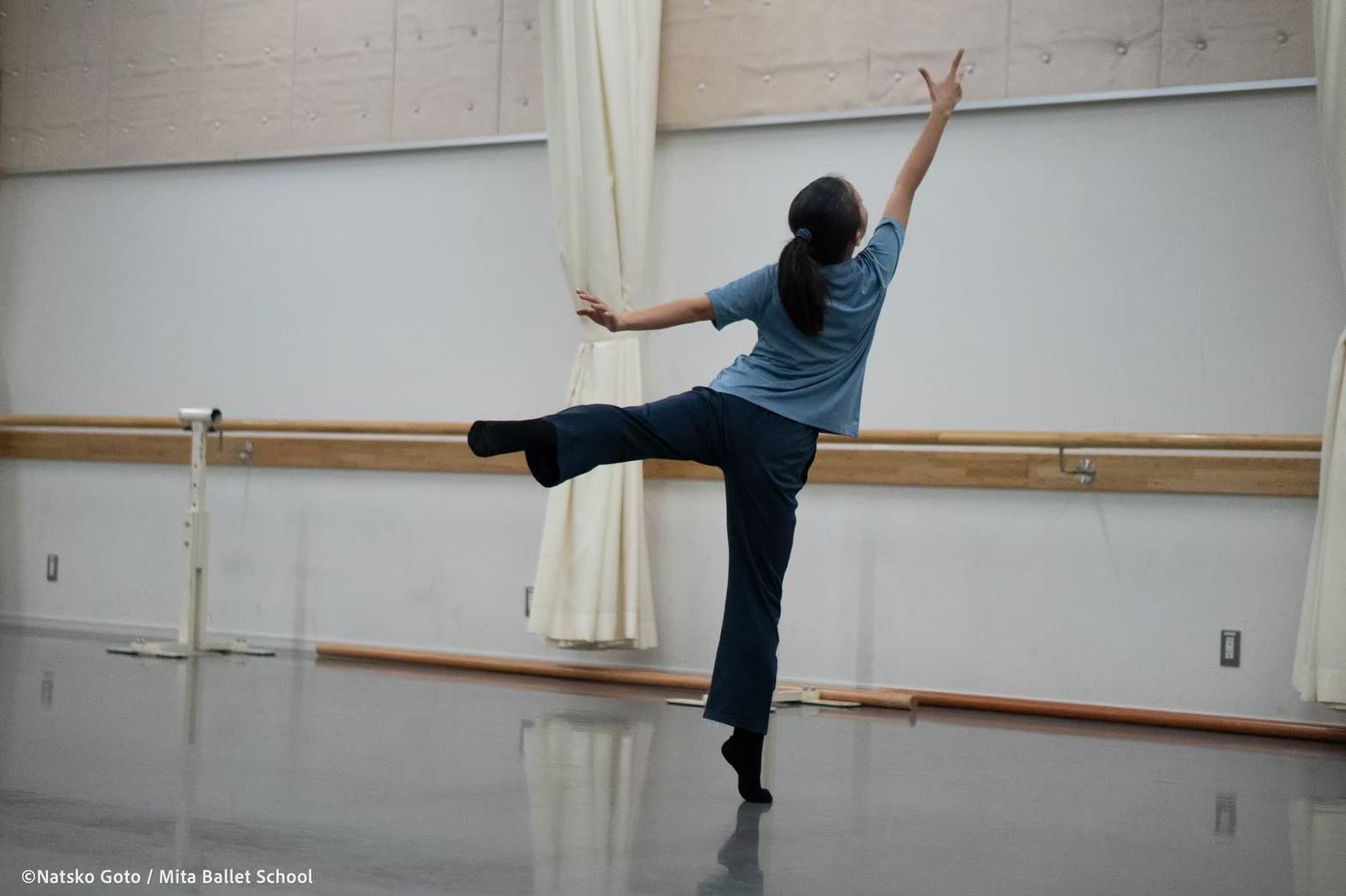 2020年三田バレエスクール養成コーススカラシップ試験 コンテンポラリーダンス 創作 振付